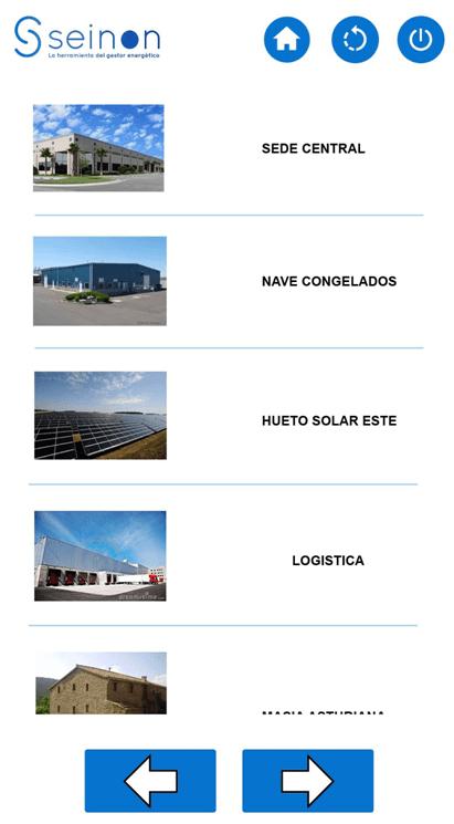 listado instalaciones